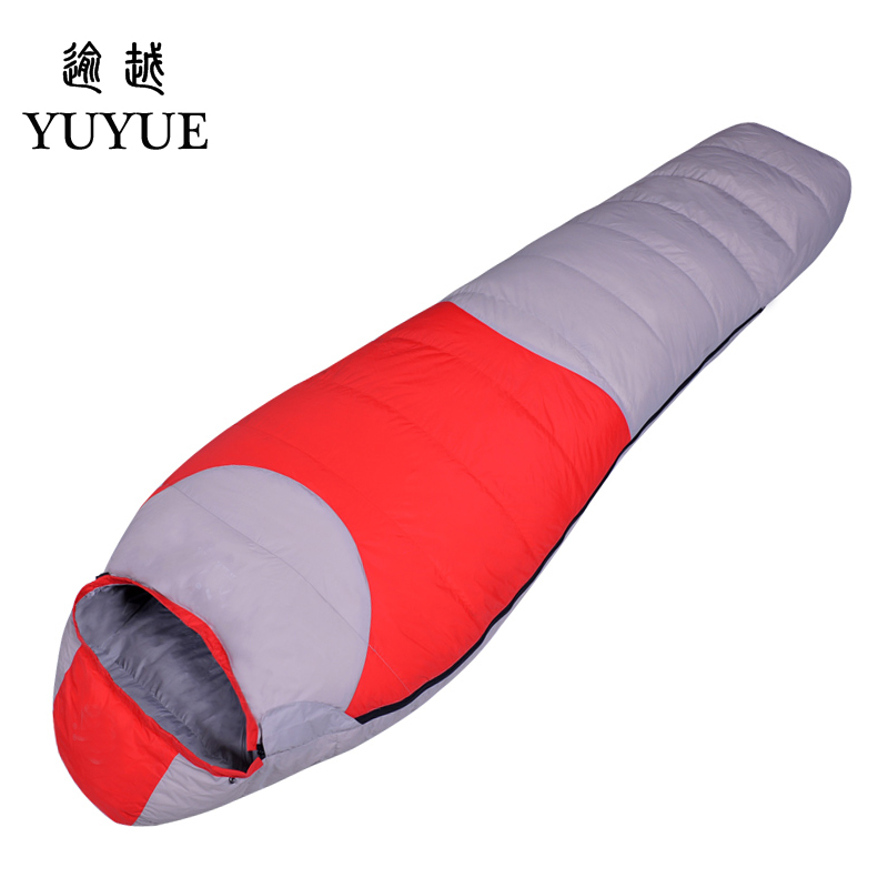 2600g Adult Winter Sleeping Bag For Camp Equipment Hiking Waterproof Warm Camping Winter Camping Sleeping Bags With Stuff Sack 5