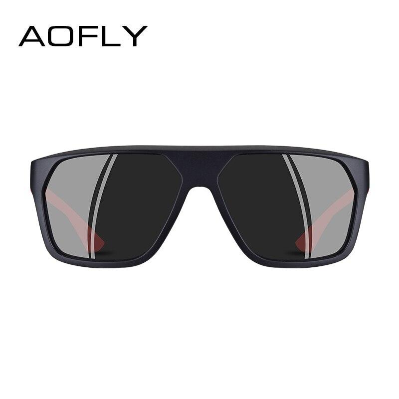 Image 3 - AOFLY BRAND DESIGN Polarized Sunglasses Men Classic Sunglasses Mens Driving Shades Male Unique Temple Oculos De Sol AF8113Mens Sunglasses   -