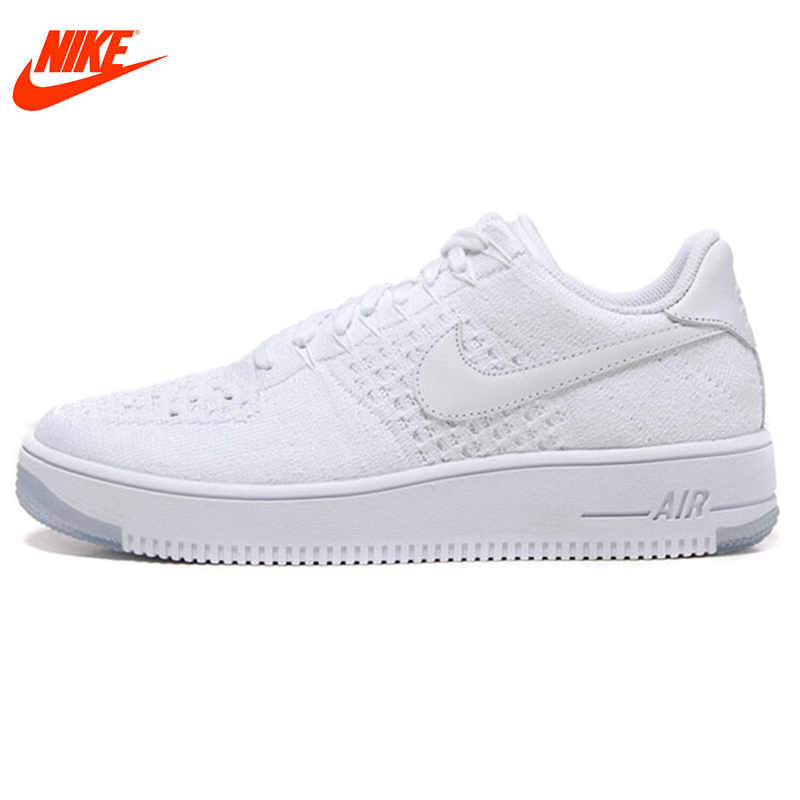 Intersport Original New Arrival Official NIKE Air Force 1 Mens Skateboarding Shoes Sneakers Classique Shoes free shipping