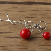 Red Cherry Hair Clip