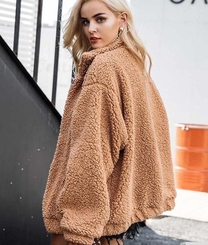 Большой размер новый негабаритный жилет из искусственной мерлушки пальто женские меховые зимние Имитация шерсти овечий мех длинные пальто куртка
