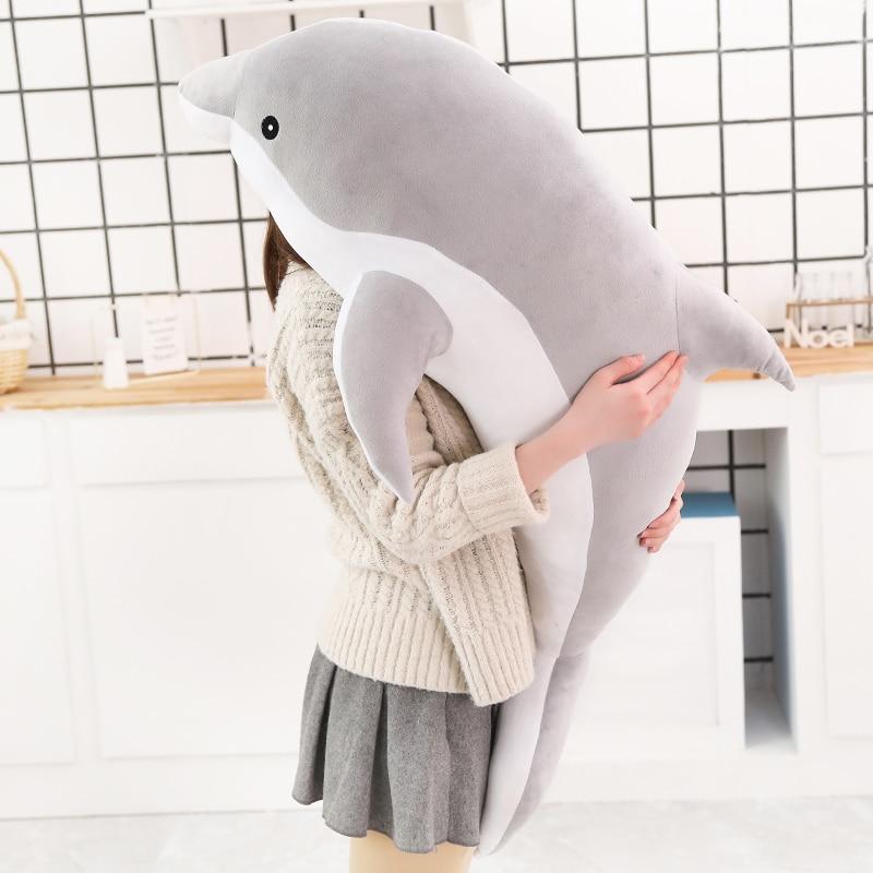 Hot peluche Dolphin Jouets en peluche mer Cute Animal FILLES Poupées-8281