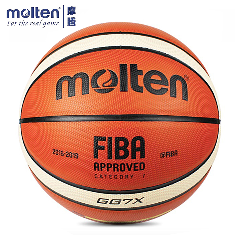 Original Molten GG7X Basketball Official Size 7 Men 39 s Basketball Ball For Indoor Outdoor Training Free With Ball Needle Mesh Net in Basketballs from Sports amp Entertainment