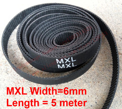 Whole sale 5 meter mxl open timing belt pitch 0 08 2 032mm neoprene width 6mm.jpg 250x250