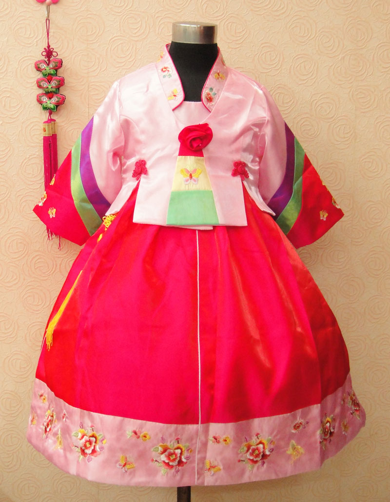 Queen of high-grade children embroidered kids princess dress/north Korea stage/performance costumes/flower girl dresses 80-150cm emigration of fathers and academic performance of their children