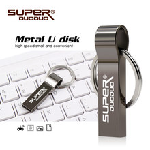 Hot Sale usb flash drive cle usb 16GB 8GB 4GB memoria usb key metal Pendrive 32gb 64gb 128 gb pen drive flash usb memory stick(China)