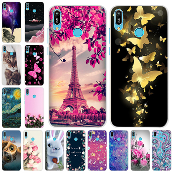 A 6.09'' For Huawei Y6 2019 Case Silicon Soft TPU Phone Case For Coque Huawei Y6 2019 Case Cover Y 6 2019 6Y Fashion Slim Fundas image