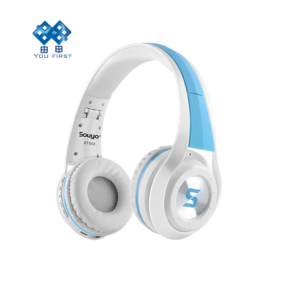 bilder für Sie erste drahtlose bluetooth 4,0 klapp headset eingebautes mikrofon stereo headset aktive rauschunterdrückung für iphone xiaomi htc pc