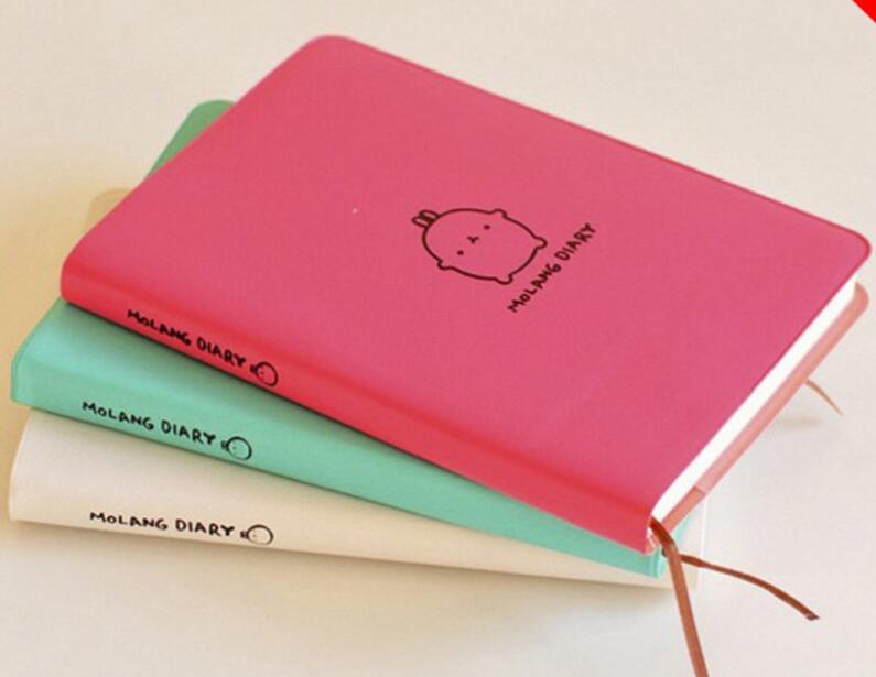 Notebooks Effizient Xrhyy 2019-2020 Nette Kawaii Notebook Cartoon Molang Kaninchen Journal Tagebuch Planer Notizblock Für Kinder Geschenk Koreanische Schreibwaren Abdeckungen