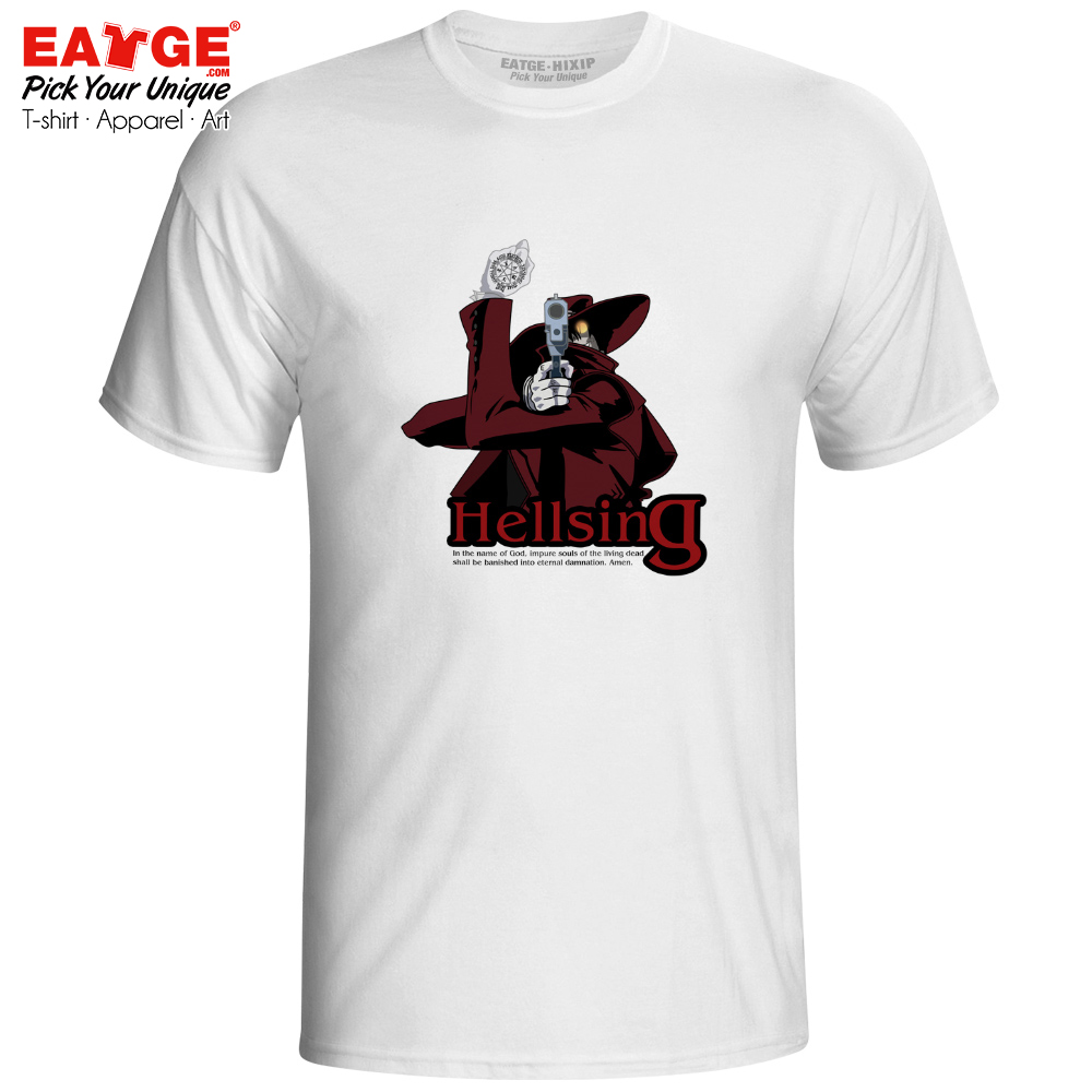 Alucard Is Capable Of Accurately Shooting T Shirt Hellsing Anime Funny Active T-shirt Creative Cool Style Unisex Men Women Tee