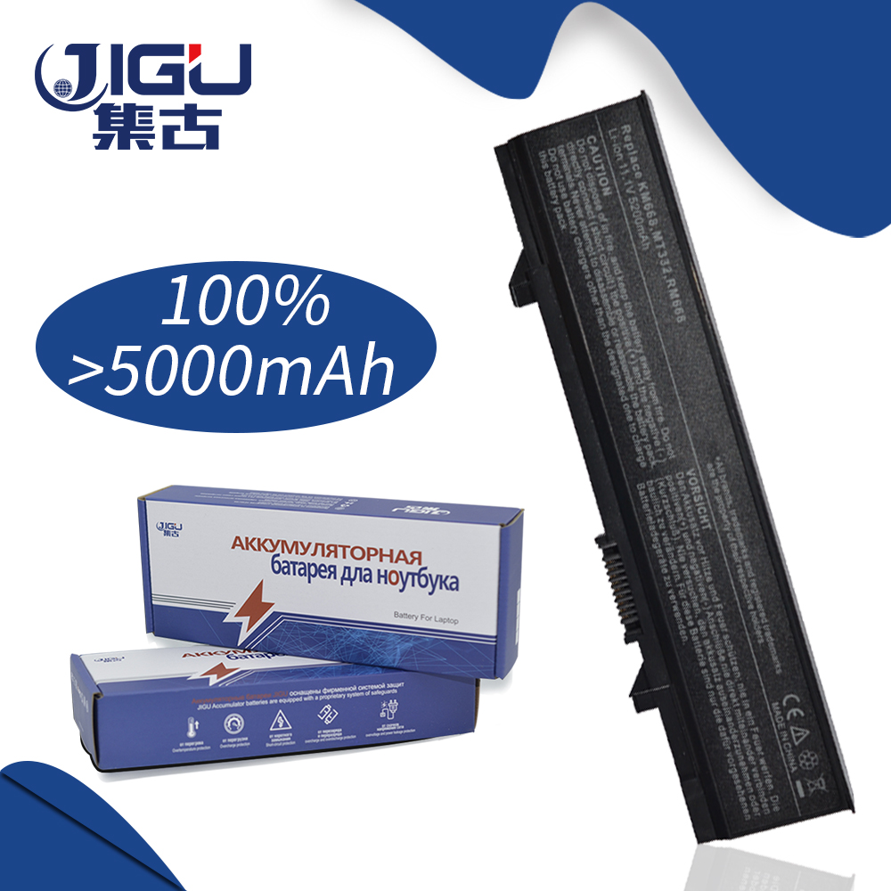 JIGU Rechargeble High Capacity Laptop Battery For Dell 0RM668 312-0762 312-0769 312-0902 451-10616 451-10617 KM668 KM742