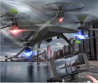 Professione WIFI FPV Corse rc Drone SH3 2.4g 4ch big size Mantenimento di quota 360 rotolo di controllo radiofonico quadcopter HD WIFI della macchina fotografica vs X8SW