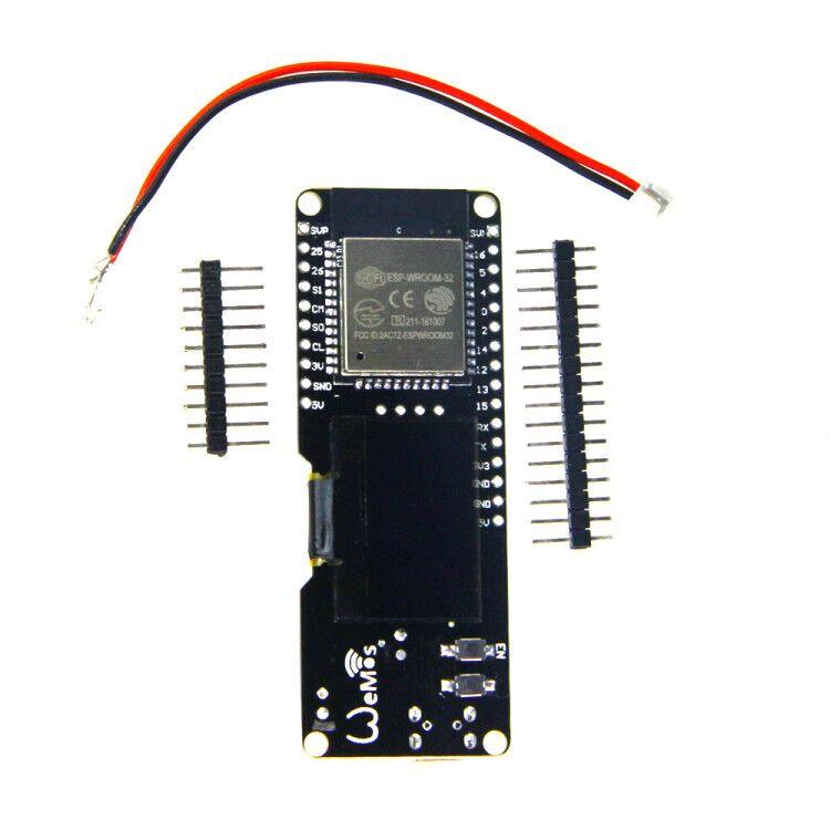 ESP-WROOM-32 ESP32 OLED& 4 Mt bytes (32 Mt bit) Flash, and Wi-Fi antennas снэк луковые кольца золотые сметана и лук 40 г
