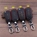 New Car Styling Key Cover Case For  KIA  SORENTO  Leather With Buckle High quality Free Shipping