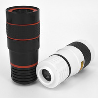 Universal HD Mobile Phone Telephoto Lens 8x Zoom Optical Telescope Camera Lenses For IPhone 5 6