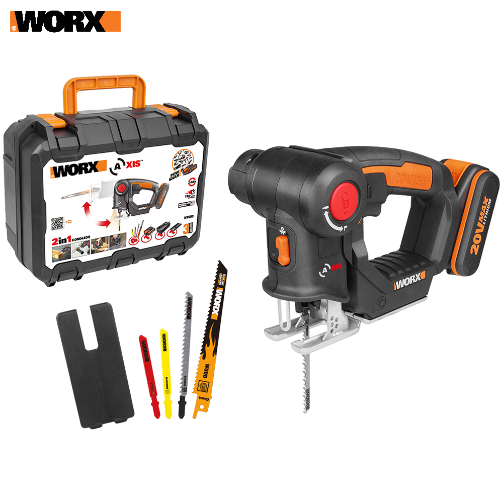 все цены на Electric Saw WORX WX550 Power tools jigsaw sable Rechargeable