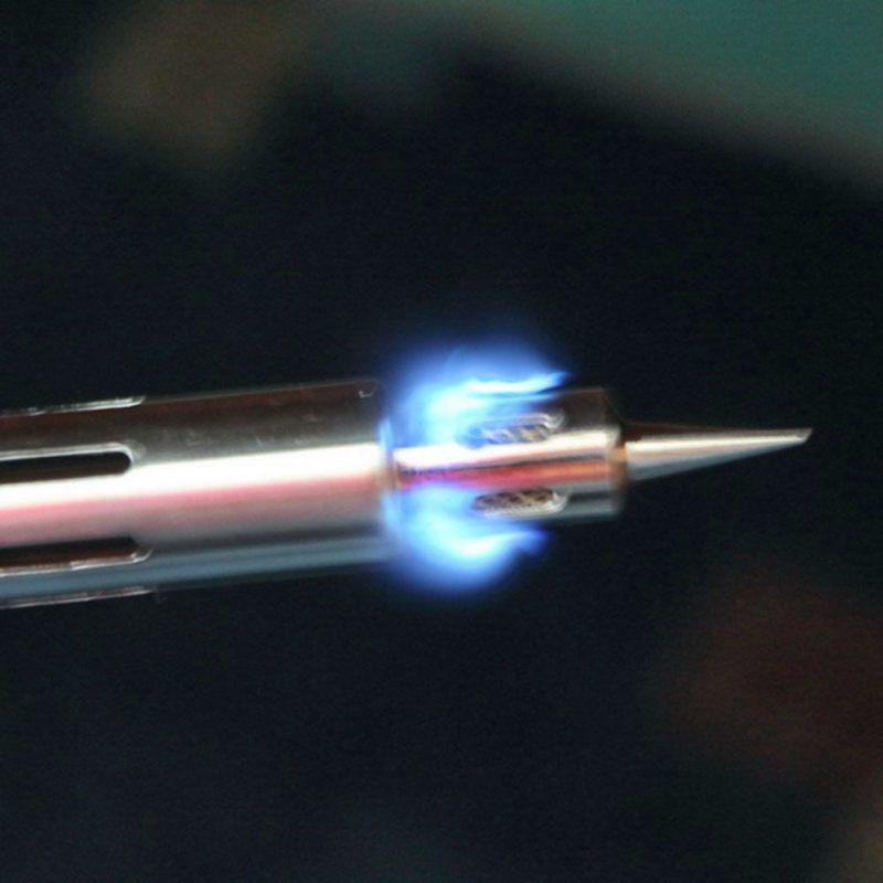 Multifunktions Einstellbare Temperatur Gas Lötkolben Schnurlose Schweißen Stift Brenner Butan Lötlampe Lötkolben Heißluftpistole