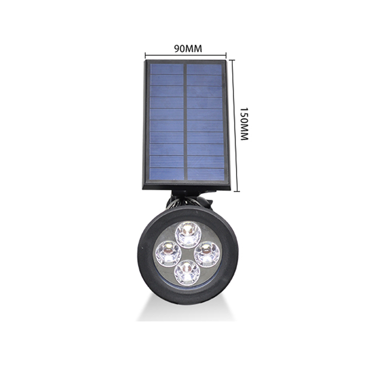 New arrival led solar light outdoor solar power spotlight garden new arrival led solar light outdoor solar power spotlight garden lawn lamp landscape spot lights wall emergency lamp luminaria in solar lamps from lights aloadofball Images