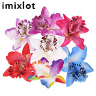 IMIXLOT 2 PCS/Set Butterfly Orchid Flower Hair Clips Women Girls Hair Accessories For Bridal Wedding Jewelry
