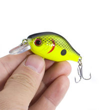 SEALURER Floating Wobbler Fishing VIB Lure 5cm 9G Artificial Fly Pesca Crankbait Hard Bait Jerkbait Tackle 5color Available 1Pcs(China)