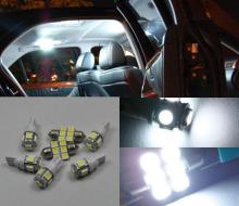 Luminoso Bianco 16 SMD Luce LED Interni kit Per Jeep Grand Cherokee WJ 1998-2004