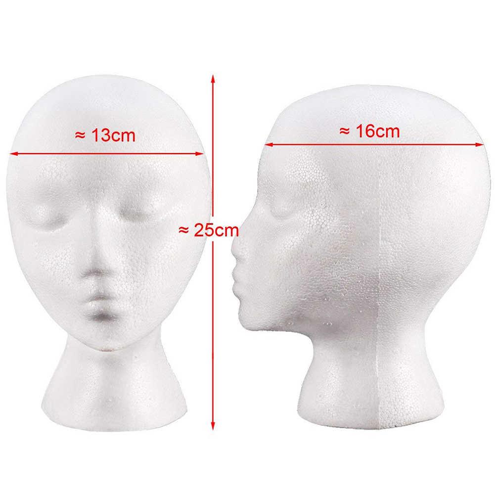 POP товара! Портативный Женский манекен головной парик стенд магазин шляпа кепки солнцезащитные очки шарф дисплей 25 см x 13 см x 16 см Новый