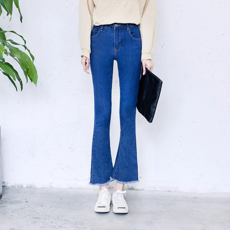 dcd5586849cf Alice   Elmer Skinny Woman Jeans For Girls Jeans Boot Cut Stretch Jeans  Female Pants Spring