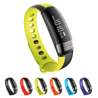 M6 Smart Bracelet Fitness Tracker Bluetooth Pedometer Heart Rate Monitor Waterproof Smart Remote Control Camera