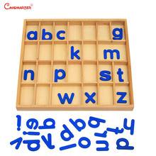 Removable Alphabet Box Games Mathematics Montessori Educational Preschool Home Baby Beech Wooden Toys Language Practices LA011-3