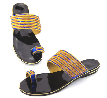 good quality African sandals for party,latest pattern ladies shoes for free shipping comfortable shoes doershow DD1-61