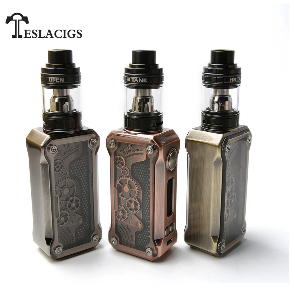 Original Teslacigs Electronic Cigarette Kit 85W Top Filling Vaporizer - Elektroniska cigaretter
