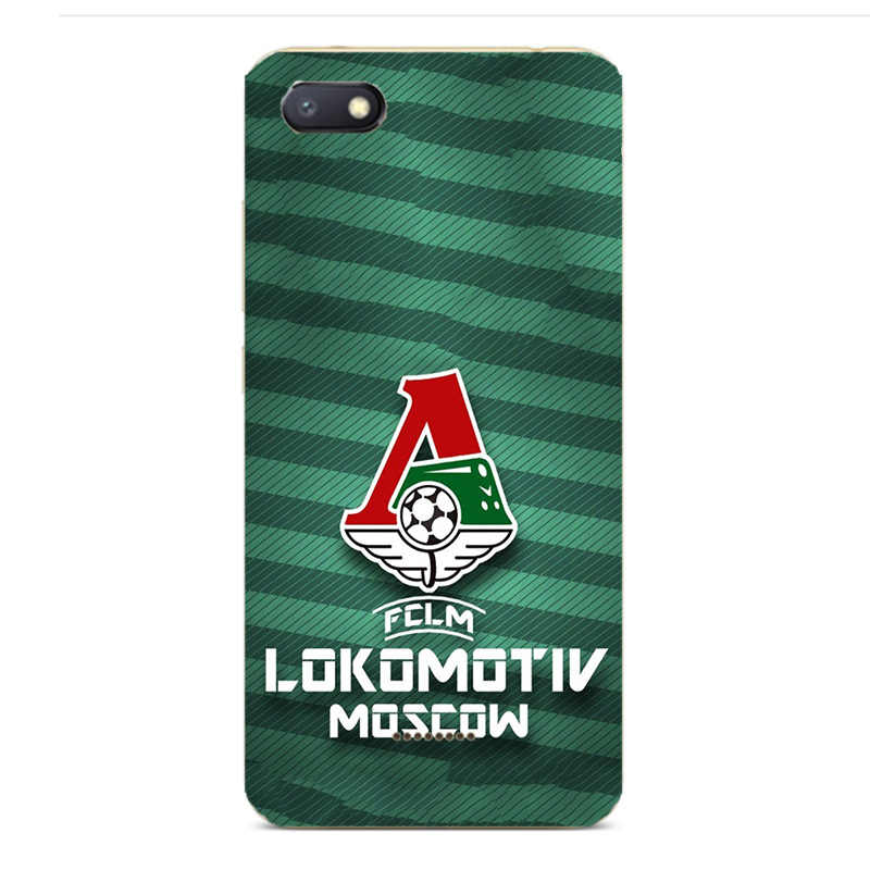 FC Lokomotiv Moscow Football Club Logo Paint Case For Xiaomi Redmi 4A 4X 5A 6 6A 4 Pro Smart Cell Phone Printed silicone Cover