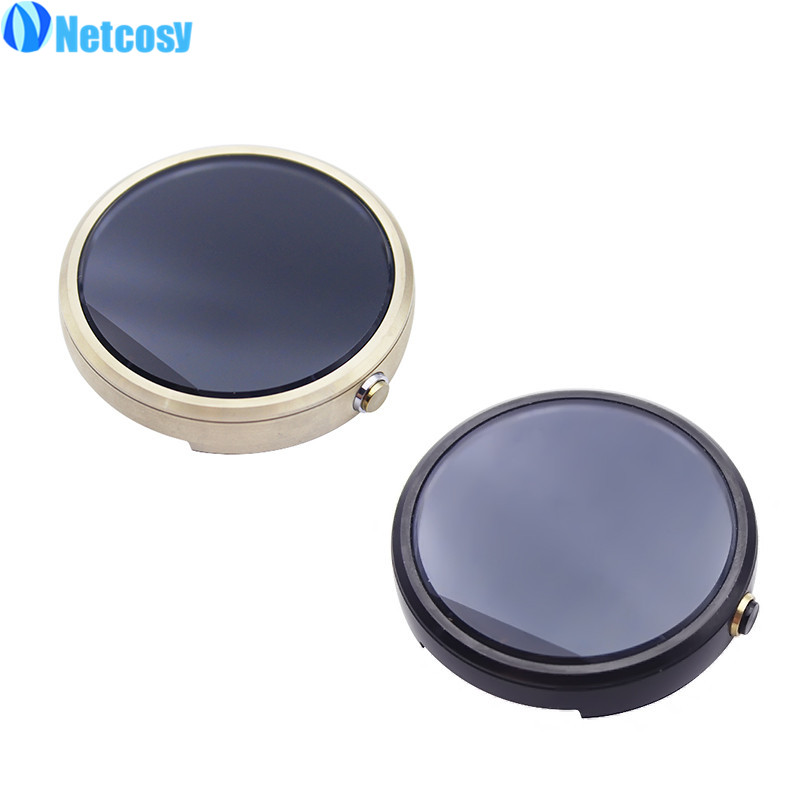 Netcosy 42mm 46mm 2 Tela LCD Para Moto 360 Relógio 1st Gen Display LCD + Montagem da Tela de Toque para Moto 360 Gen 1st/2nd 42mm 46mm