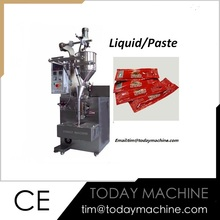 Thick Liquid and Viscous Packing Machine|Vertical Tomato Paste Packaging Machine