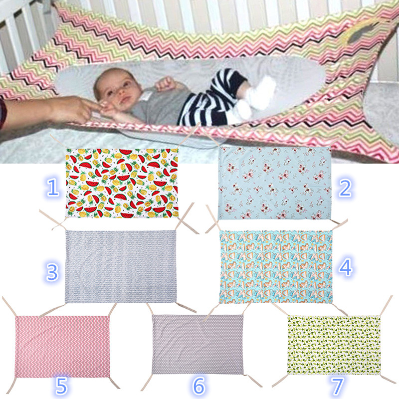Newborn Baby Hammock Detachable Infant Photography Baby Bed Elastic Storage Portable Folding Travel Crib Basket Outdoor