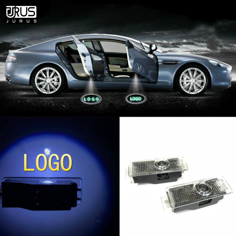 JURUS 2018 2 X Led para Bmw Car Porta Bem-vindo Luz E90 E60 E63 E64 E65 E85 E86 E89 F02 M5 E61 E91 E92 E93 M3 M Desempenho logotipo