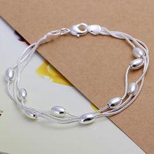 925 jewelry silver plated jewelry bracelet fine fashion bracelet top quality wholesale and retail SMTH236