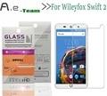 Aierwill Протектор Экрана Для Wileyfox Swift 2 Защитная Пленка 9н 9 d HD Ультра тонкий Анти-Взрыв Для Wileyfox Закаленное Стекло