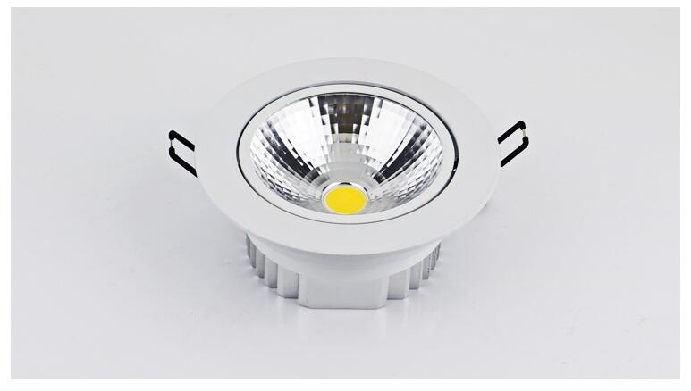 Dimmable LED Downlight 5W 7W 10W 12W 15W 20W 30W Spot LED LED - Ներքին լուսավորություն - Լուսանկար 5