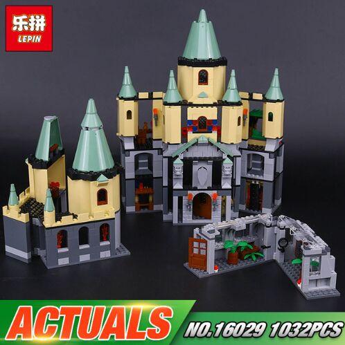 Lepin 16029 Genuine 1033Pcs Movie Series The Magic hogwort castle set 5378 Educational Building Blocks Bricks Toys Model Gifts