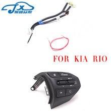 Botão do Volante Para KIA RIO K2 2017 2018 RIO X LINHA de Volume Botões de  Controle de Cruzeiro Do Bluetooth Telefone 285c67fdc88fa