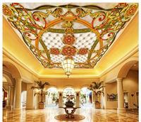 customized-3d-wallpaper-3d-ceiling-wallpaper-murals-european-dome-mural-wallpaper-ceiling-painted-ceiling-beauty-home-decoration