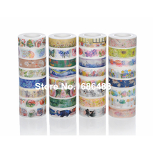 high quality hundreds design for choice Japanese printed decorative colorful office adhesive washi tape