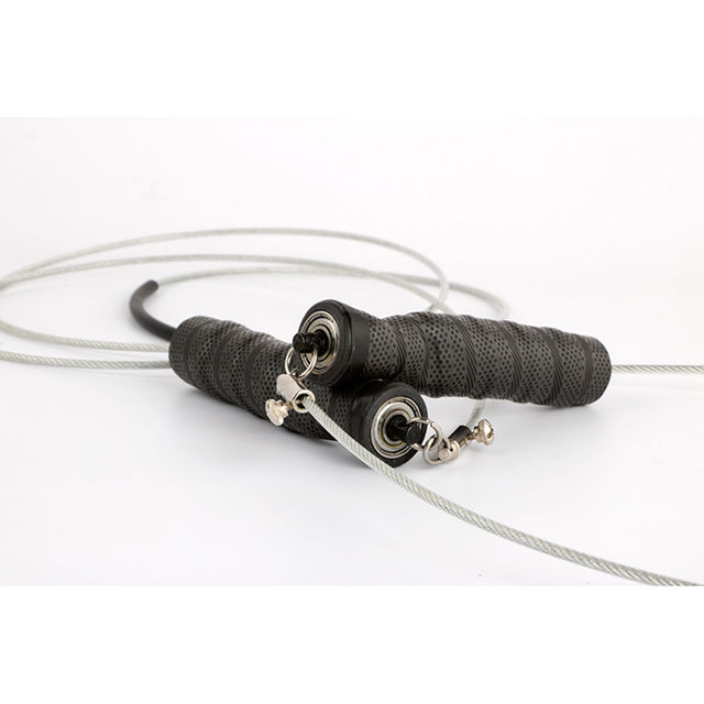 Adjustable skipping rope 2.8M Speed Steel Wire Skipping Jump Rope Crossfit Crossfit  Box Gym Fitnesss Equipment