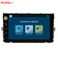 KiriNavi 9 Octa Core Android 7.1 Car Radio For Volkswagen Golf 5 Multimedia DVD GPS Navigation Stereo Audio Player Bluetooth 4G