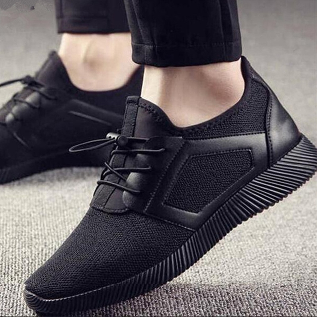 Shoes Men Sneakers Lace Up Casual Breathable Mesh Shoes Spring Summer Lightweight Sneakers Men Footwear Zapatillas Hombre 2019