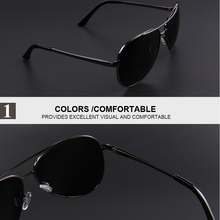 Men's Polaroid Sunglasses Night Vision Driving Sunglasses 100% Polarized Sunglasses
