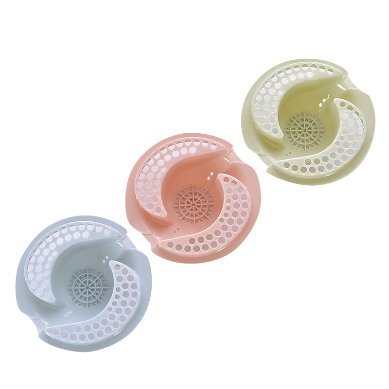 New Kitchen Sink Filter Diversion Shape Bathroom Hair Sewer Filter Outfall Drain Cover Basin Anti Clogging Kitchen Sink Strainer