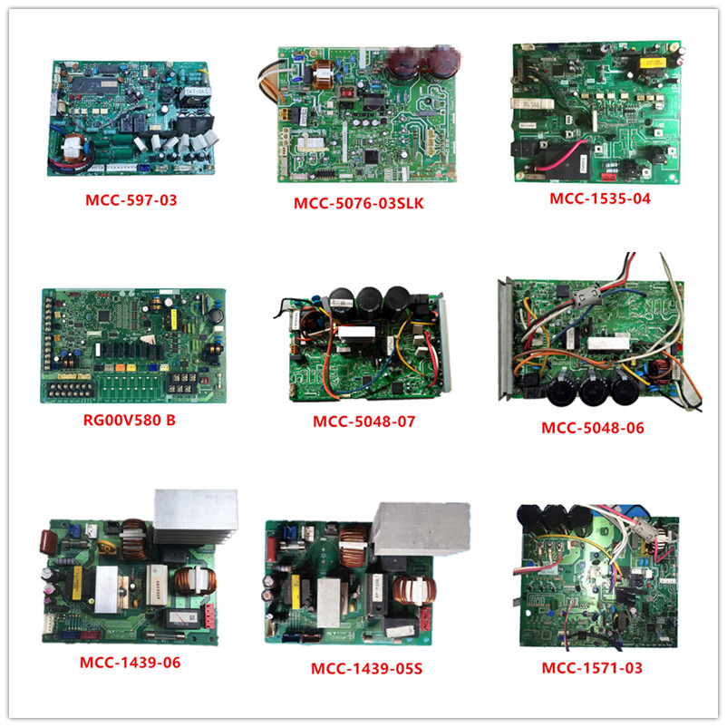 MCC-597-03  MCC-5076-03SLK  MCC-1535-04  RG00V580 B  MCC-5048-07  MCC-5048-06  MCC-1439-06  MCC-1439-05S  MCC-1571-03 Used Work