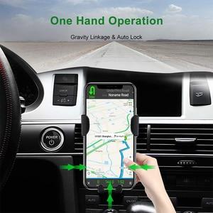 Image 2 - Qi Auto Veloce Caricatore Senza Fili Per iPhone 8 8 Più XS 7.5W 10W Caricabatteria Da Auto Senza Fili Per Samsung galaxy S8 S9 S10 Nota 9 Caricatore